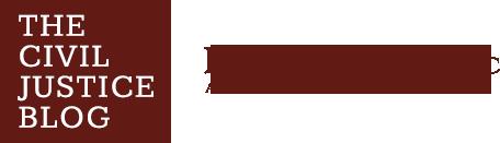 Civil Justice Blog Logo